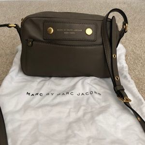 Small Taupe Crossbody by Marc by Marc Jacobs